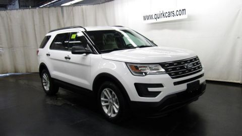 New 2017 Ford Explorer Base FWD