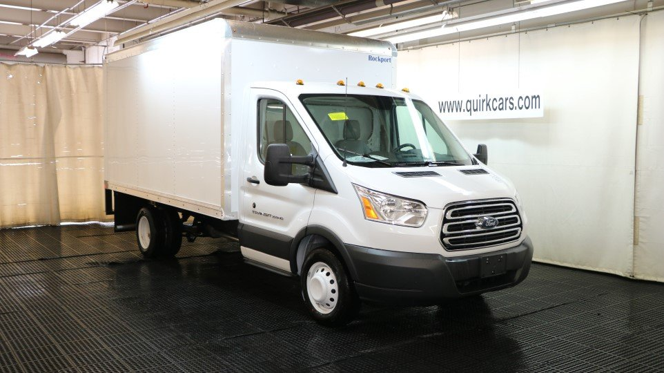 New 2017 Ford Transit Box Truck 12ft Rockport Body In