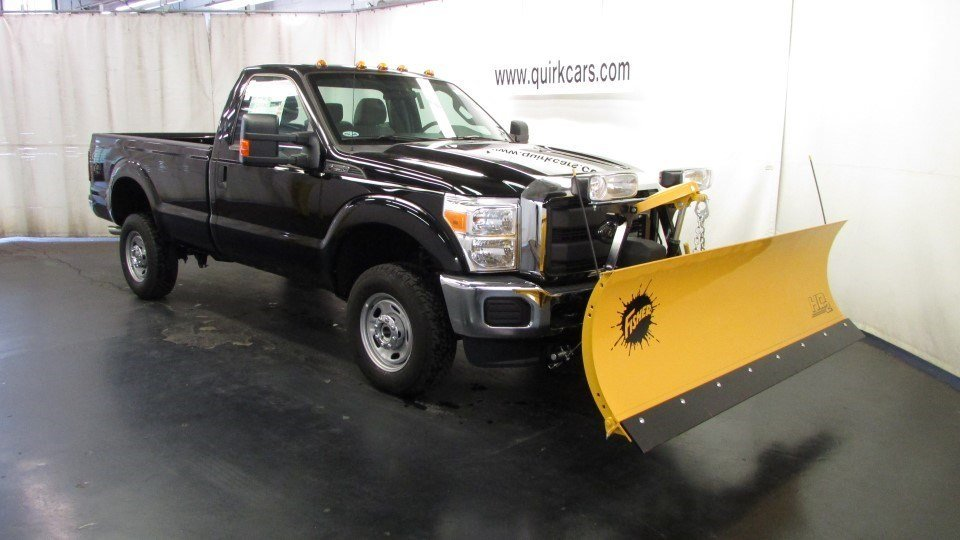 2016 Ford F250 Super Duty XL 4X4 W/ 8Ft. Fisher Snow Plow