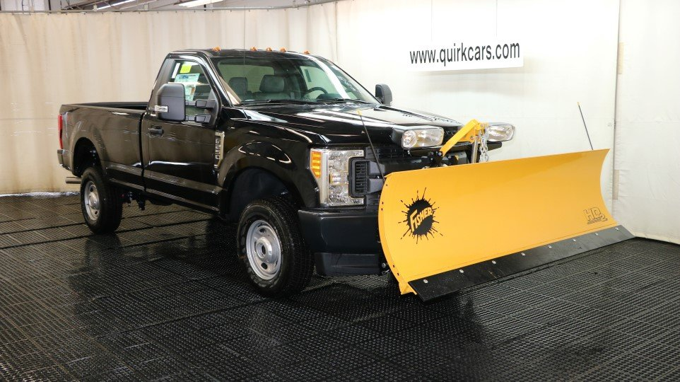 2017 Ford F250 W/ 8FT Plow XL Fisher 4x4