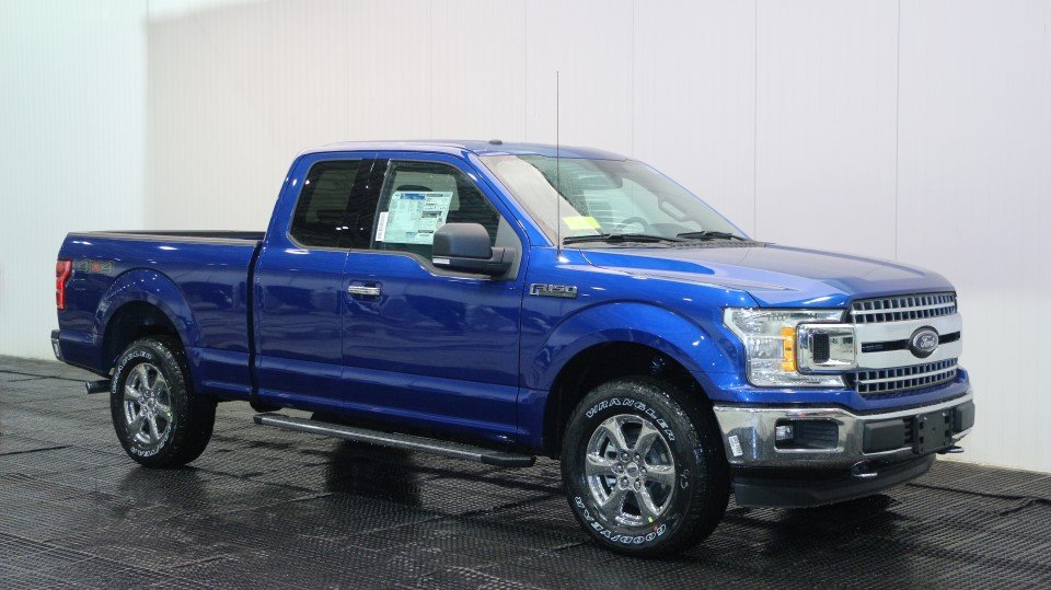 2018 Ford F150 XLT Super Cab 4x4