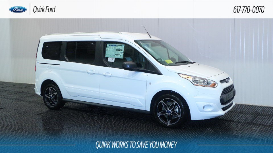New 2018 Ford Transit Connect Wagon Xlt In Quincy F107009 Quirk Ford