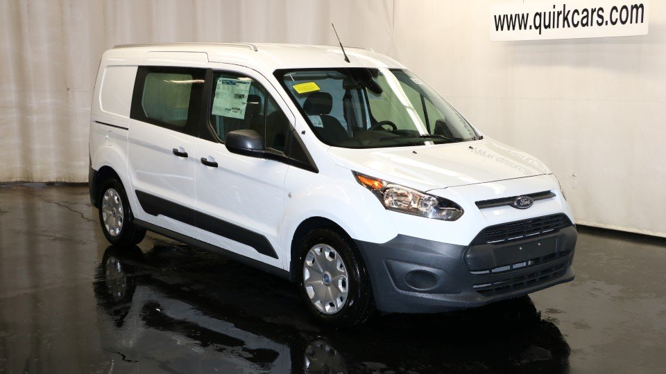 new 2017 ford transit connect van xl in quincy f104620 quirk ford. Black Bedroom Furniture Sets. Home Design Ideas