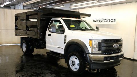 2017 Ford F550 DRW Landscape Dump Body XL 4x4