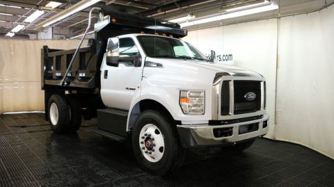 2017 Ford F650 DRW 10FT Galion Dump Body
